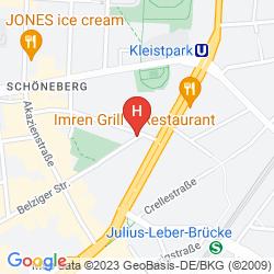 Karte HOTEL-PENSION DELTA