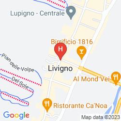 Karte CHALETS LA GOLP  &  GULLIVER