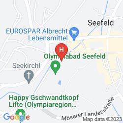 Karte HOTEL HOCHEDER