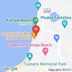 Karte KAMALA BEACH ESTATE