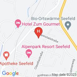 Karte HOTEL SOLSTEIN