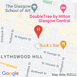 Karte BLYTHSWOOD SQUARE