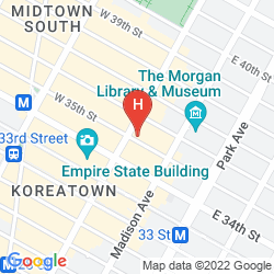 Karte 373 FIFTH AVENUE