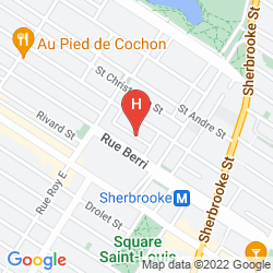 Karte DU MANOIR ST-DENIS
