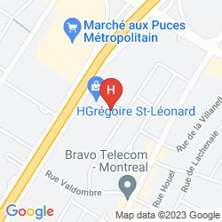 Karte MOTEL LIDO