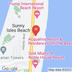 Karte ACQUALINA RESORT & SPA ON THE BEACH