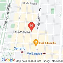 Karte UNICO MADRID
