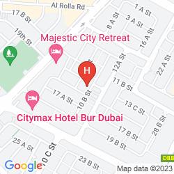 Karte SAVOY PARK HOTEL APARTMENTS