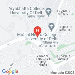 Karte ASHOKA PALACE