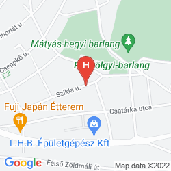 Karte VILLA KORDA HOTEL