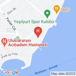 Karte CINAR HOTEL