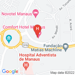 Karte COMFORT MANAUS