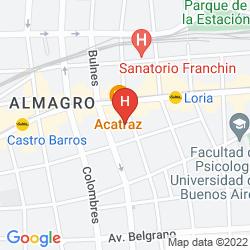 Karte NH Buenos Aires 9 de Julio