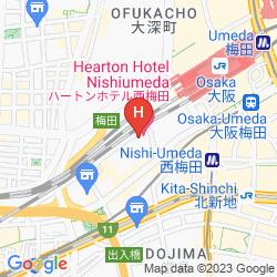 Karte HEARTON NISHI UMEDA