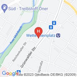 Karte WETTERSTEIN