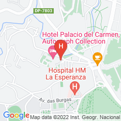 Karte PALACIO DEL CARMEN, AUTOGRAPH COLLECTION
