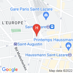 Karte MAISON ALBAR HOTEL PARIS OPERA DIAMOND