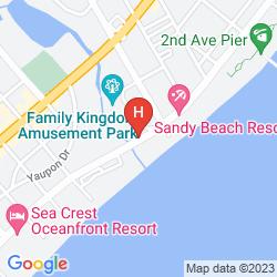 Karte WESTGATE MYRTLE BEACH