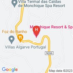 Karte MACDONALD MONCHIQUE RESORT & SPA