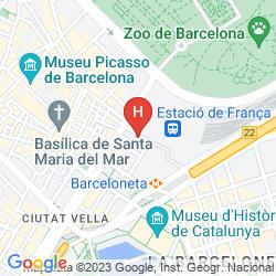 Karte SANTA MARTA