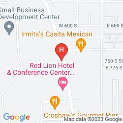 Karte RED LION HOTEL & CONFERENCE CENTER ST. GEORGE