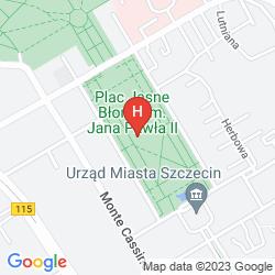 Karte HOTEL ATRIUM