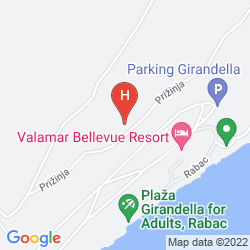 Karte ALBONA HOTEL & RESIDENCE
