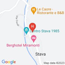 Karte HOTEL VILLA DI BOSCO