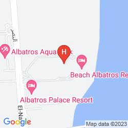 Karte ALBATROS RESORT