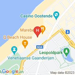 Karte HOTEL SERGE