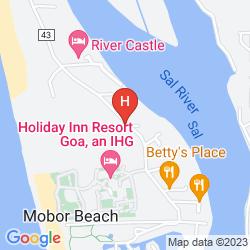 Karte GAFFINOS BEACH RESORT