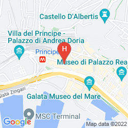 Karte GALATA