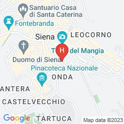 Karte SIENA HOSPITALITY