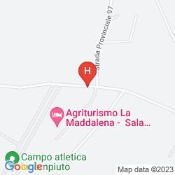 Karte AGRITURISMO LA MADDALENA