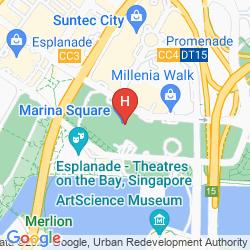 Karte PAN PACIFIC SINGAPORE