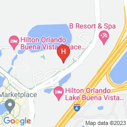 Karte WYNDHAM LAKE BUENA VISTA DISNEY SPRINGS RESORT AREA