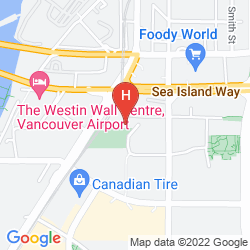Karte THE WESTIN WALL CENTRE VANCOUVER AIPORT