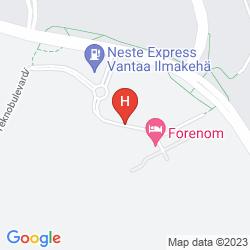Karte FORENOM AIRPORT