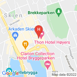 Karte THONH HOTEL HOYERS