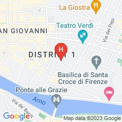 Karte SANTA CROCE