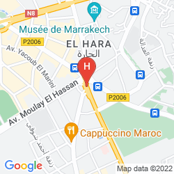 Karte RESIDENCE HOTEL ASSOUNFOU & SPA
