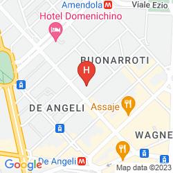 Karte AMENDOLA FIERA