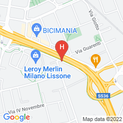 Karte RE LISSONE