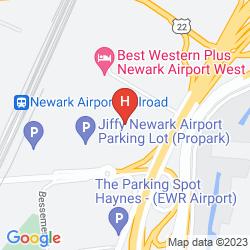Karte WYNDHAM GARDEN HOTEL NEWARK AIRPORT