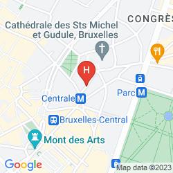 Karte SANDTON BRUSSELS CITY CENTER