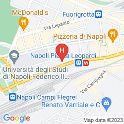Karte SUITE PARTENOPEA