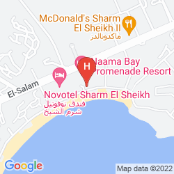 Karte NAAMA BAY PROMENADE BEACH RESORT