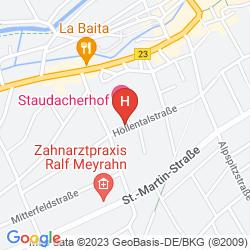 Karte STAUDACHERHOF