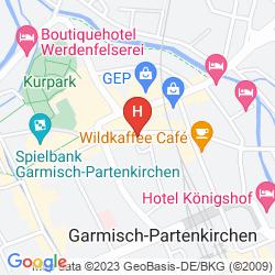 Karte GARMISCHER HOF