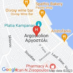 Karte CEFALONIA STAR